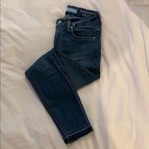 7 for Humanity Jeans with Raw Hem